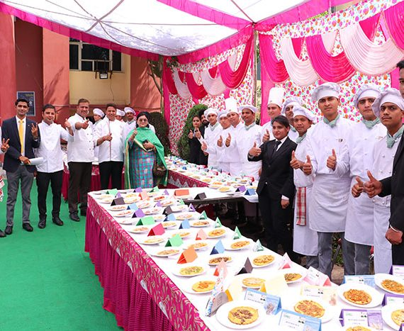 Prepared 389 Besan Chillas for Limca Book of Records