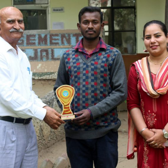 Student of St. Soldier Group selected in ISRO